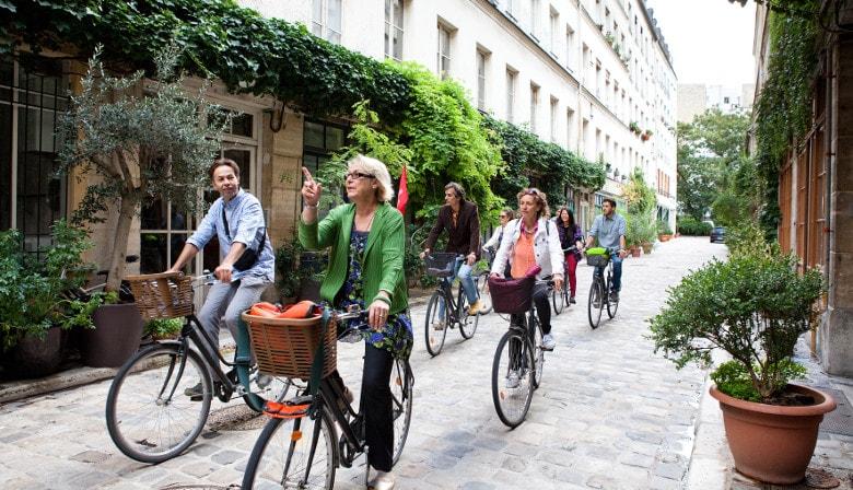 Paris des Parisiens - visite guidée à vélo et dégustation