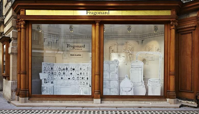 Fragonard Fragrance Shop Showcase