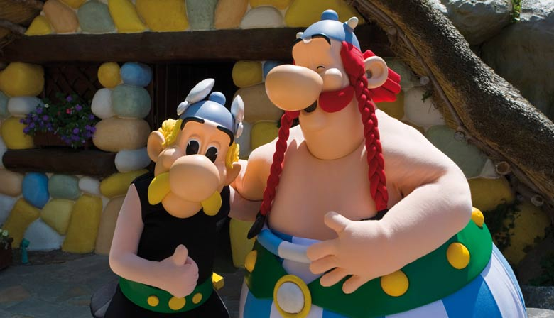 1 Day Trip to Astérix Park with Transport