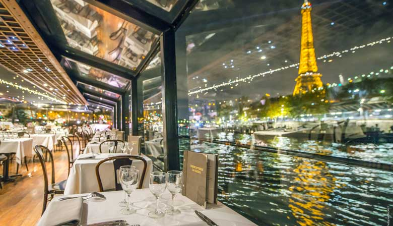 Enjoy a dinner cruise