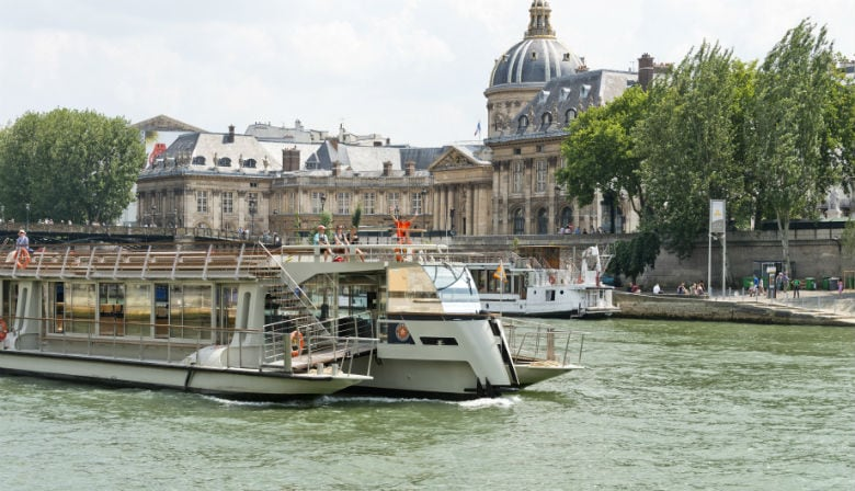 Ticket for a Seine river cruise in Paris