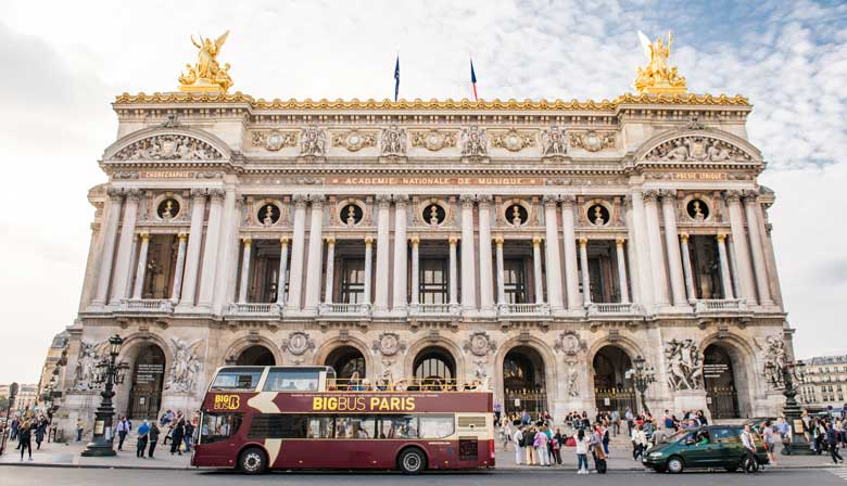 Oper Garnier in Paris
