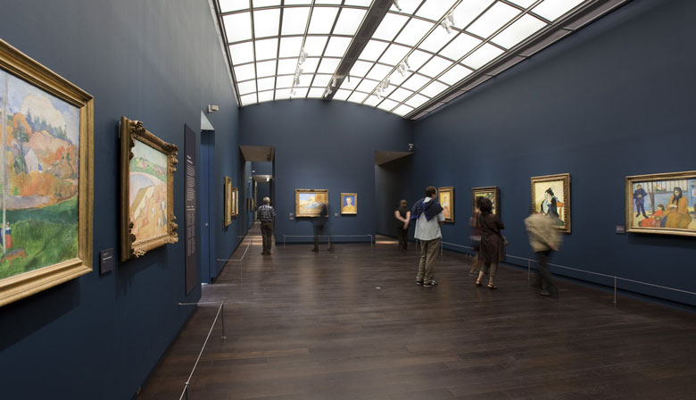 Discover the paintings of the Musée d' Orsay in Paris