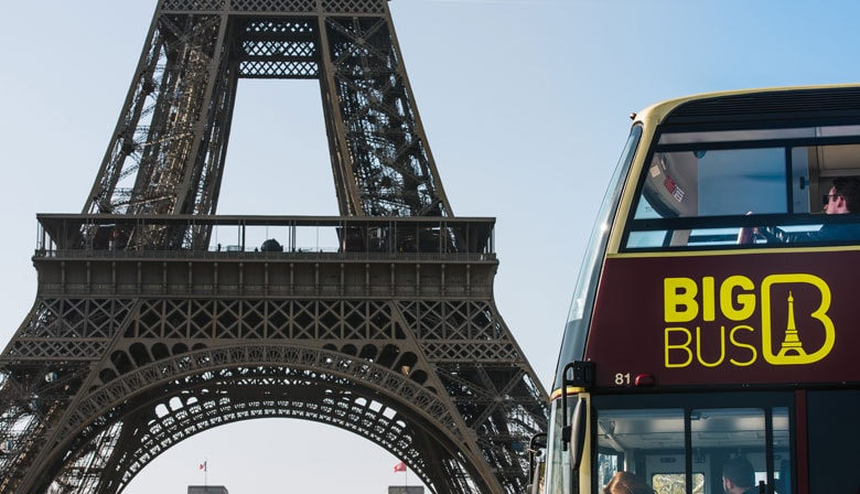 Discover Paris aboard the Big Bus