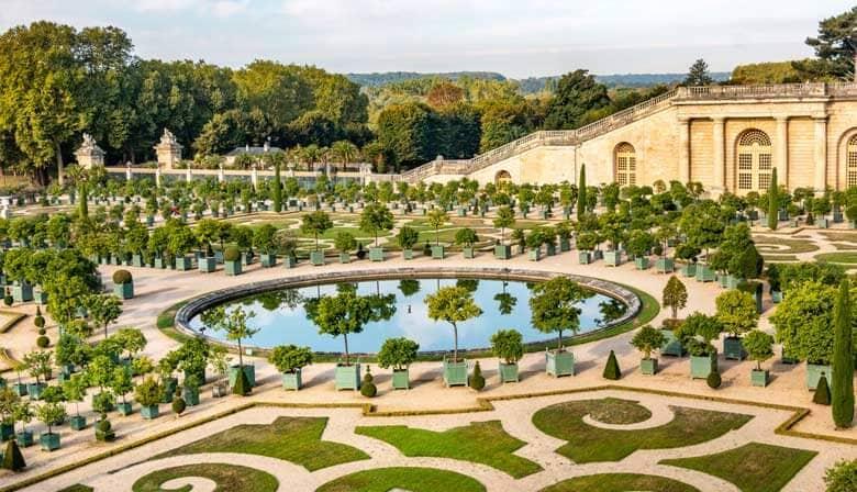 凡尔赛花园的喷泉