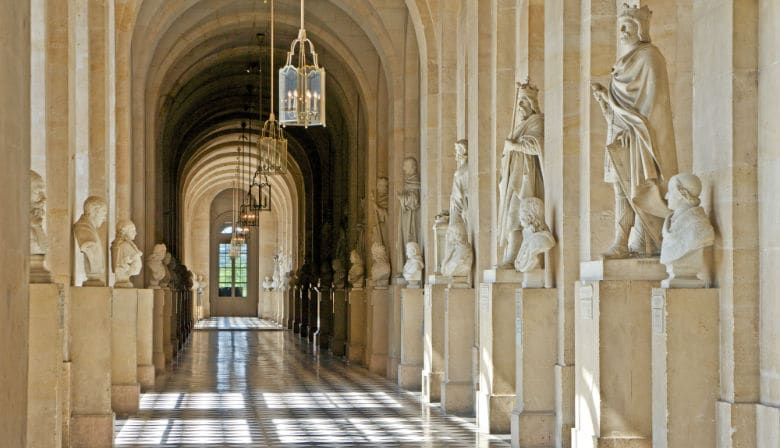 Hallway in the Palace of Versailles