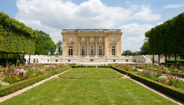 The Petit Trianon of the Palace of Versailles