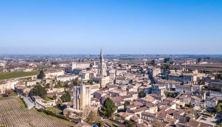 Wonderful views of Saint-Emilion