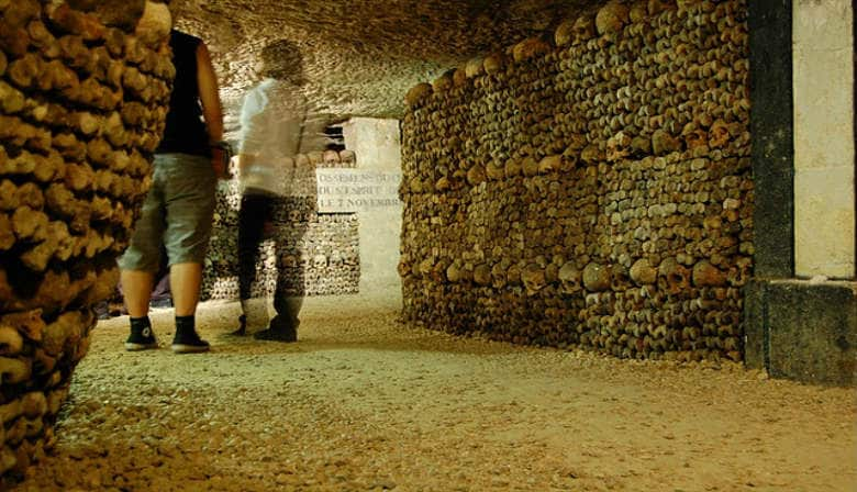Discover the Catacombs in Paris