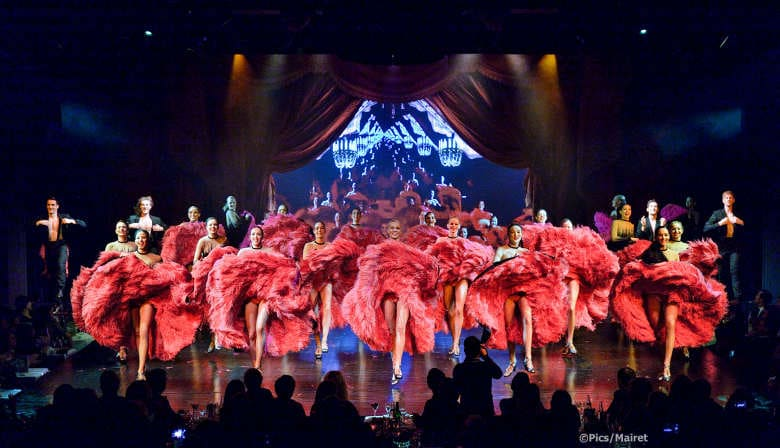 French Cancan of the Lido show