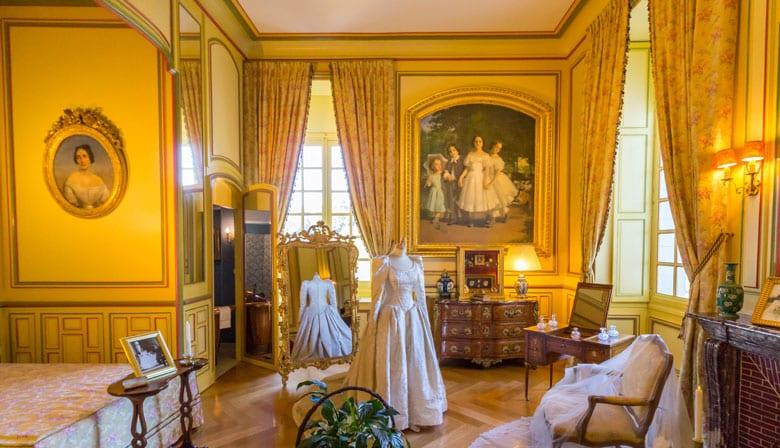 Interior of the Chateau de Cheverny