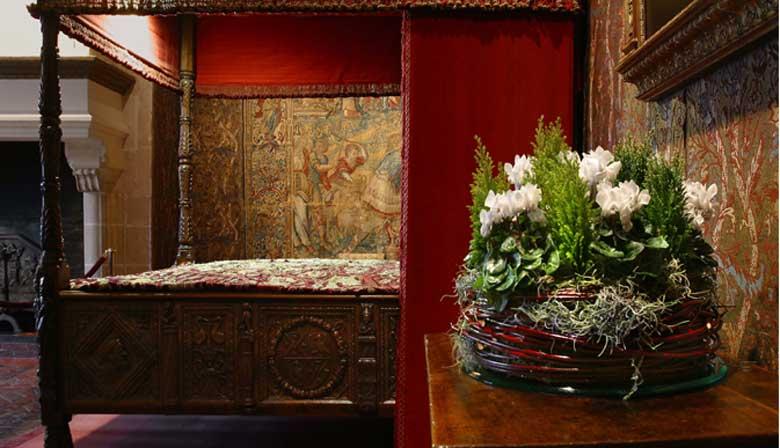 Visite la sala real del castillo de Chenonceau