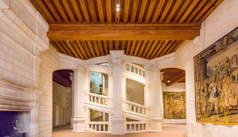 Castillo de Chambord e su hermosa arquitectura