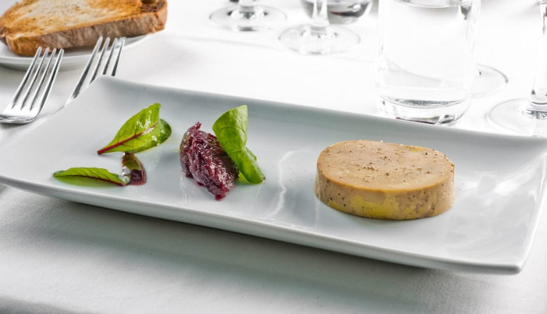 Dinner on Bateaux Parisiens boat restaurant