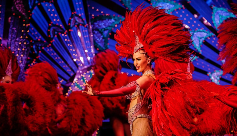 Moulin Rouge Doriss Girls dancers