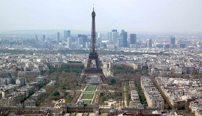 Paris Panoramic view