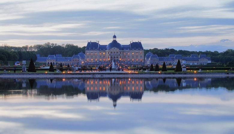 Visita de Vaux le Vicomte por la noche