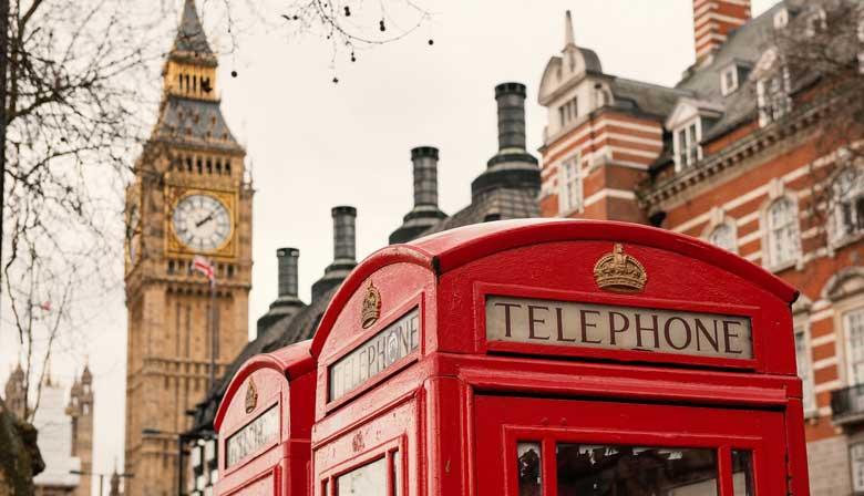 Téléphone cabine in London
