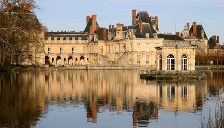 Visite des appartements du roi dans le Château de Vaux le Vicomte