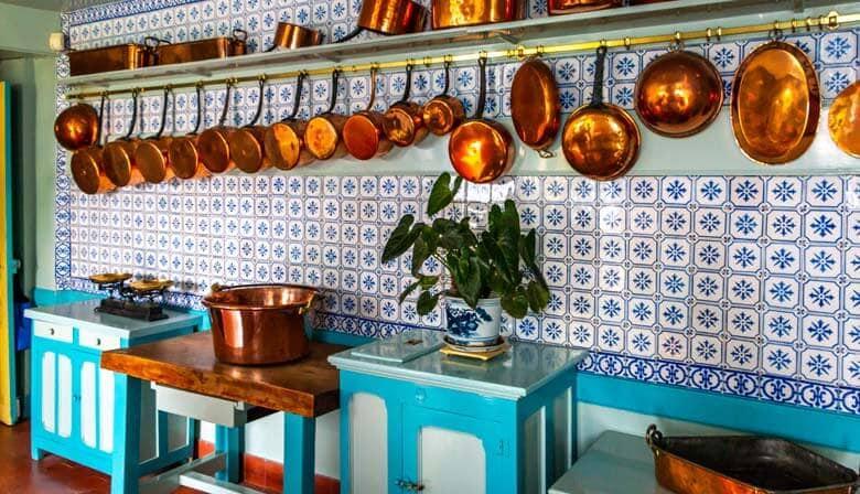 Kitchen - Claude Monet's house