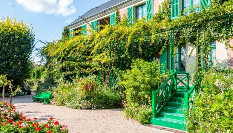 Casa Claude Monet en Giverny