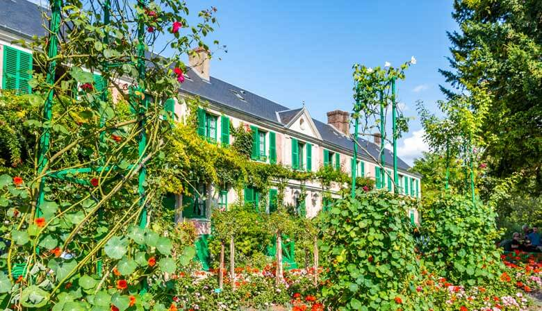 House and gardens at Giverny