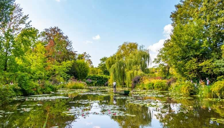 Japanese garden in Giverny