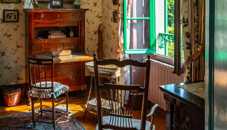 Office of Claude Monet in Giverny