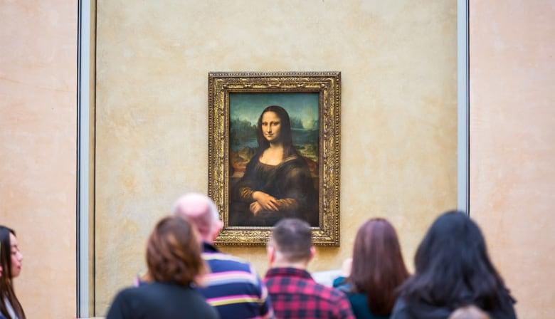 蒙娜丽莎在天窗博物馆