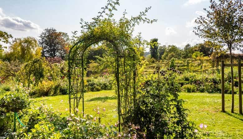 Jardines florecidos de Claude Monet