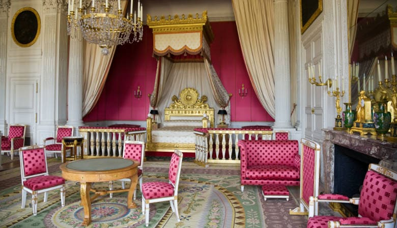 King room inside the Palace of Versailles