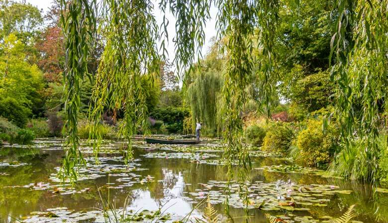 Beautiful gardens in Giverny