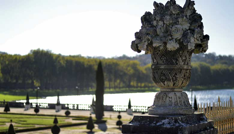 Fountains and the Palace of Versailles
