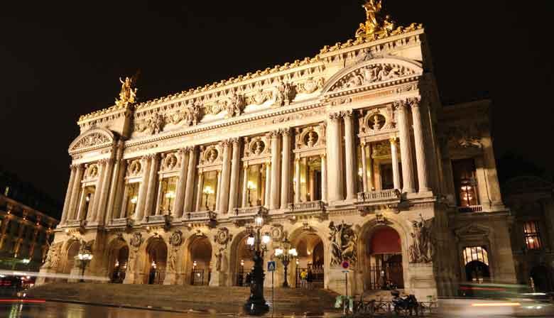 L'Opera Garnier illuminé