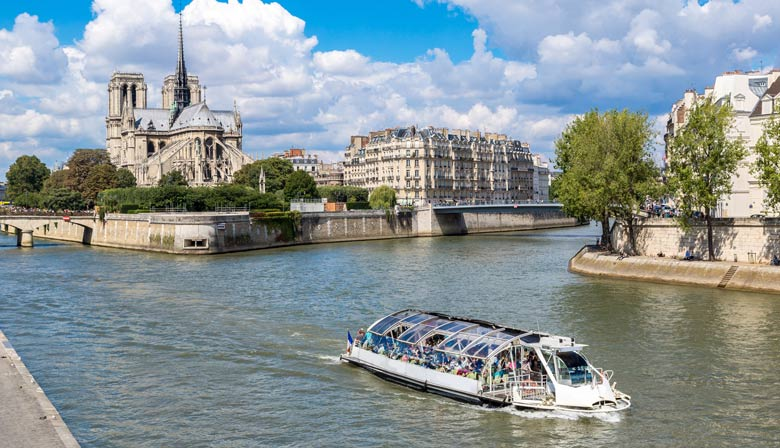 Paris City tour with a view on Notre Dame Cathedral