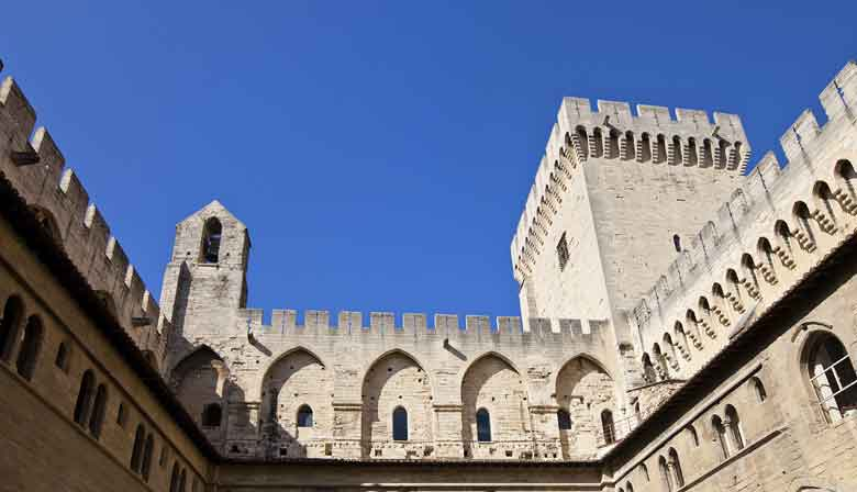 Visit the Palais des Papes in Avignon
