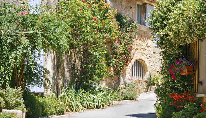 Traditionnal village of Provence