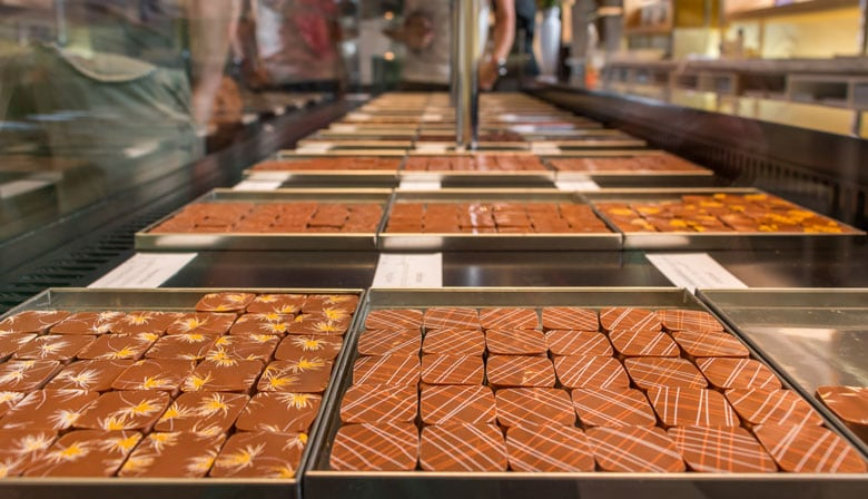 Chocolate tasting in Paris