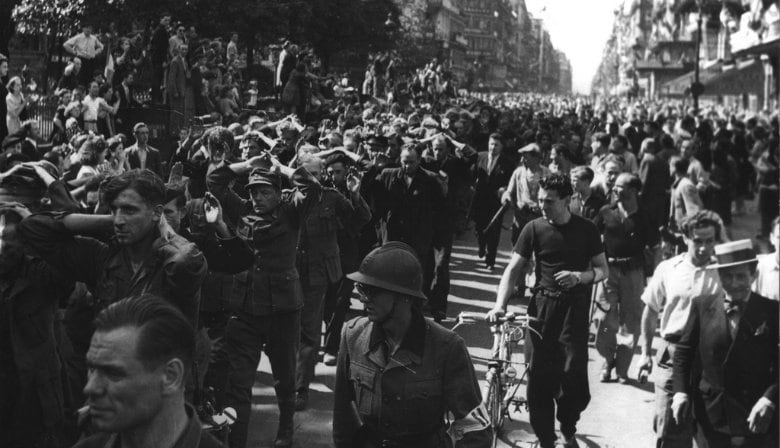 Paris Occupation during the WWII