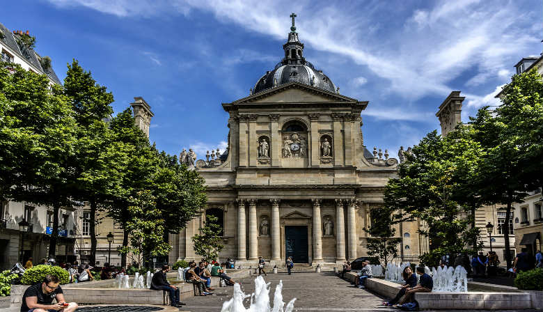 University of La Sorbonne in Paris