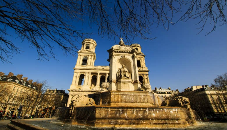 Saint-Sulpice church in Paris