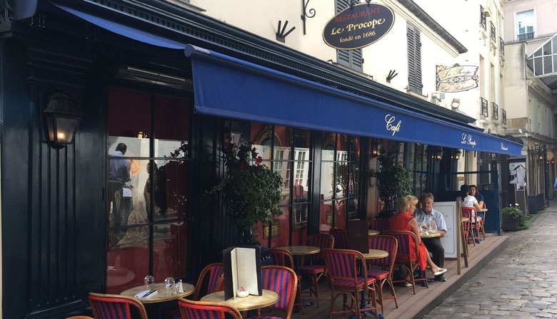 Café at Saint-Germain area in Paris