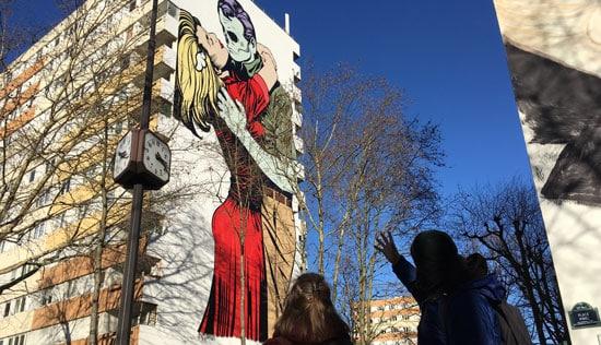 Street Art Walking Tour in Paris