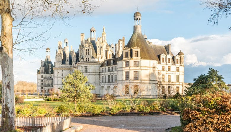 Visit Chambord Castle during a Loire Valley tour