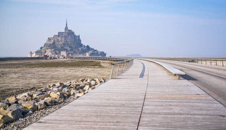 Discover the Mont Saint Michel in France