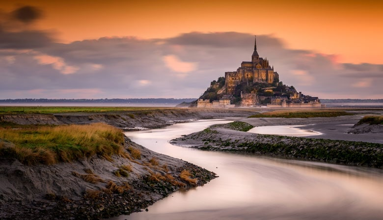 Vistas do Mont Saint-Michel