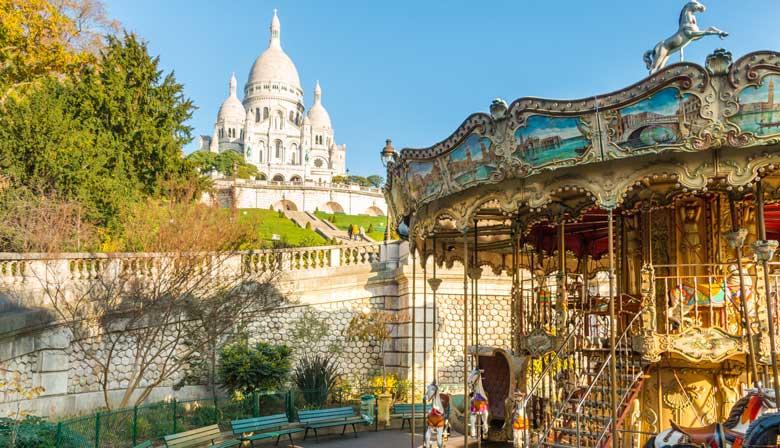 Visita la iglesia del Sacré Coeur en Montmartre