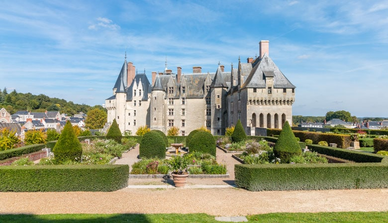 Visit of the Castle of Langeais