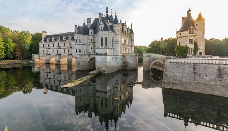 Hermoso castillo de Chenonceau