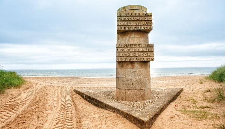 Desembarco de playas en Normandía